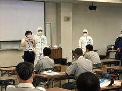 北九州市消防防災訓練センターにおける講義と訓練風景②.jpg